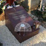 Africa Red urna kripta gránit sírkő