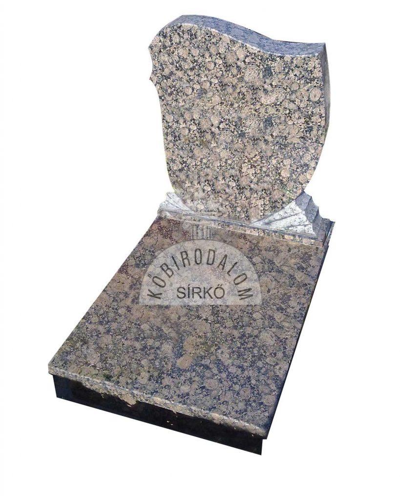 Baltic Brown urna sírkő