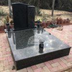 Baltic Green - Zimbabwe dupla gránit sírkő