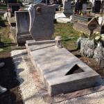 Jupparana szimpla gránit sírkő