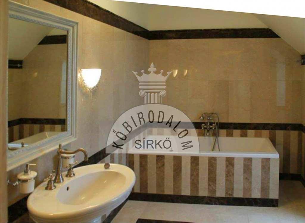 Kőburkolat - fürdőszoba