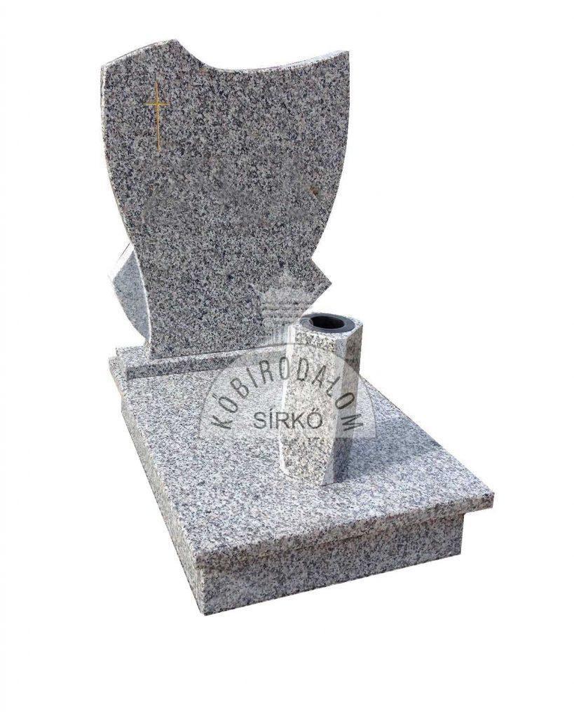 Mountain Pink urna gránit sírkő