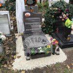 Paradiso urna gránit sírkő
