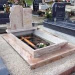 Shivakashi dupla gránit sírkő