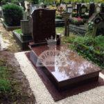 Vanga szimpla sírkő