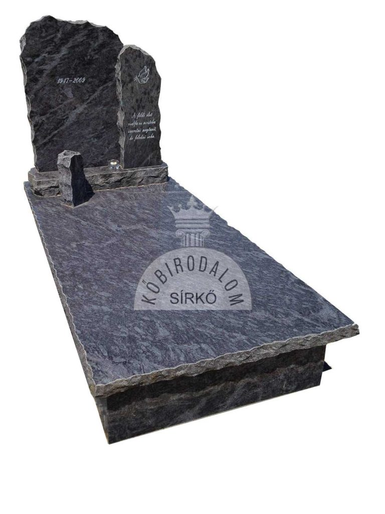 Vizag Blue szimpla sírkő