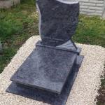 Vizag Blue urna gránit sírkő