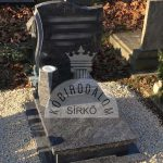 Vizag Blue urnaa gránit sírkő