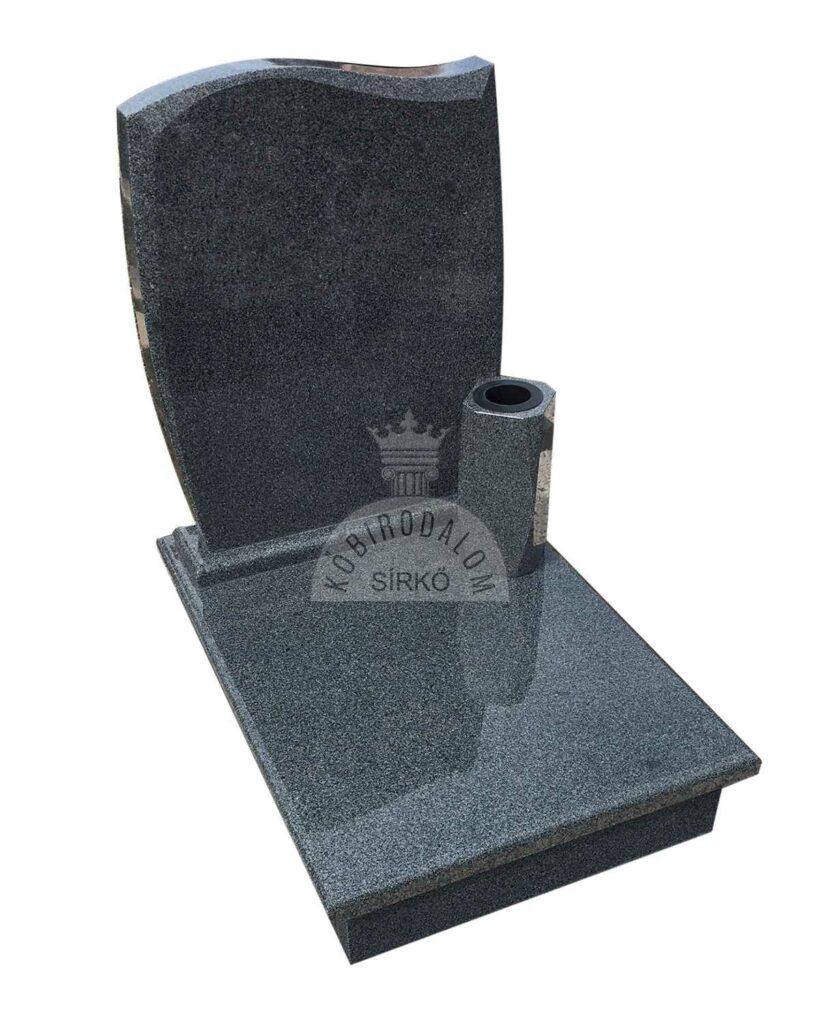 Kobra gránit urna sírkő