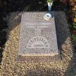 Rosa Porrino Urna sírkő 03