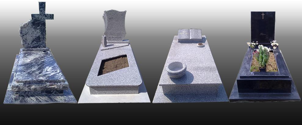 Szimpla sírkövek
