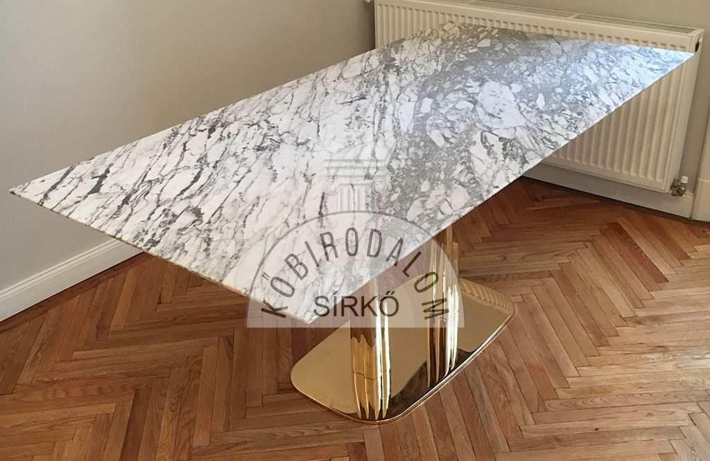 Calacatta márványasztal
