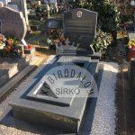 Kobra szimpla gránit sírkő 3