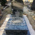 OIlive Green szimpla gránit sírkő 3