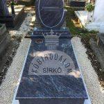 Vizag Blue szimpla gránit sírkő 3