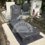 Vizag Blue szimpla gránit sírkő 4