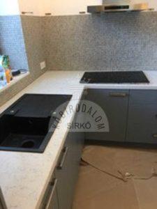 Noble Carrara Technistone pult