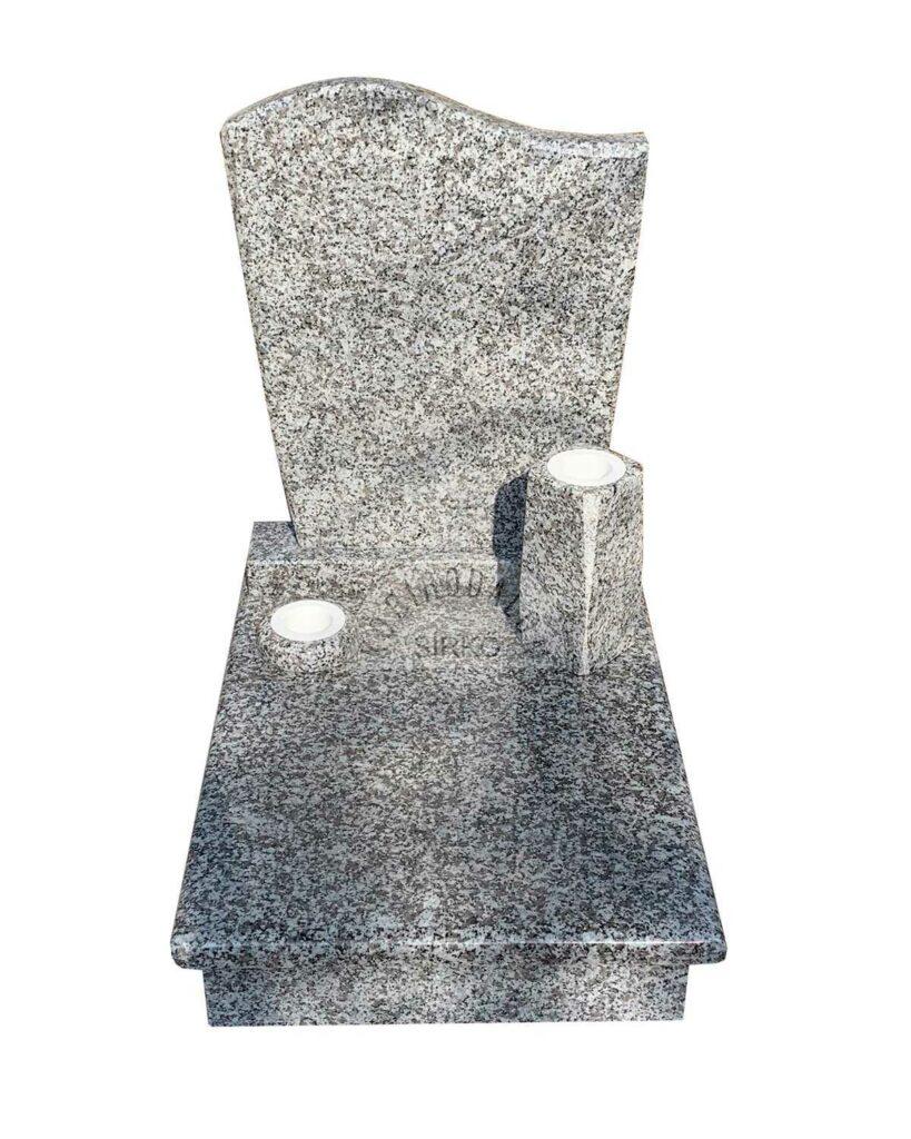 Bianco Tarn gránit urna sírkő