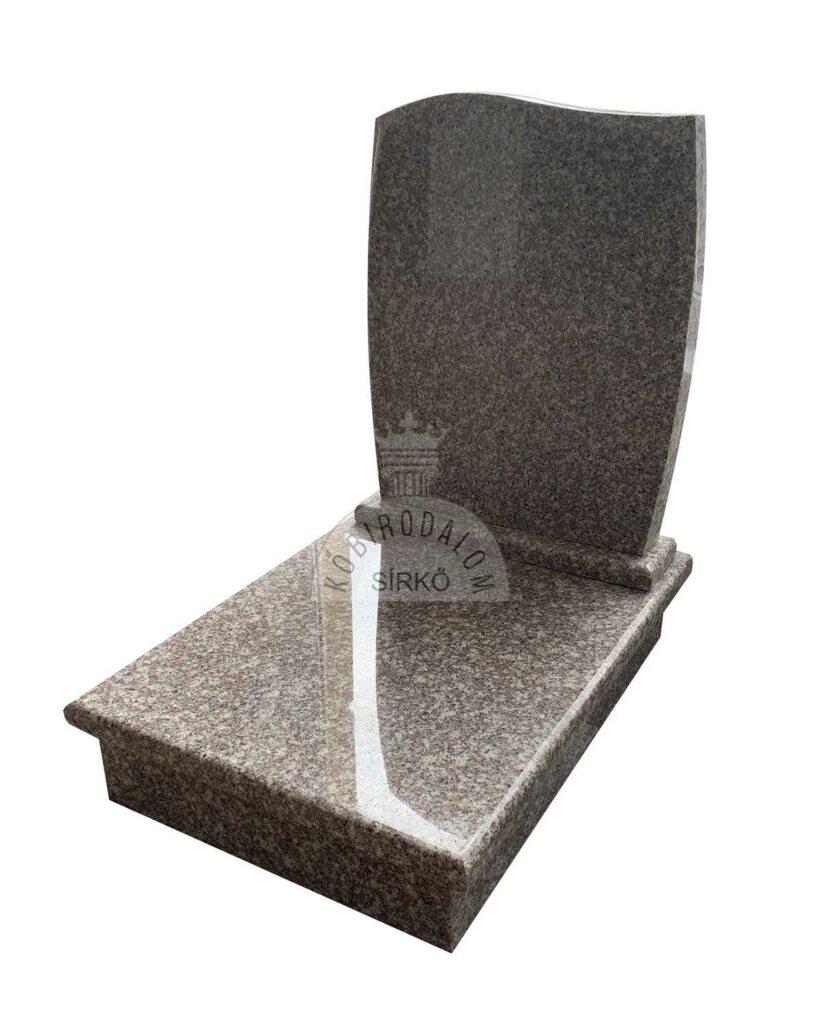 Brown Star gránit urna sírkő