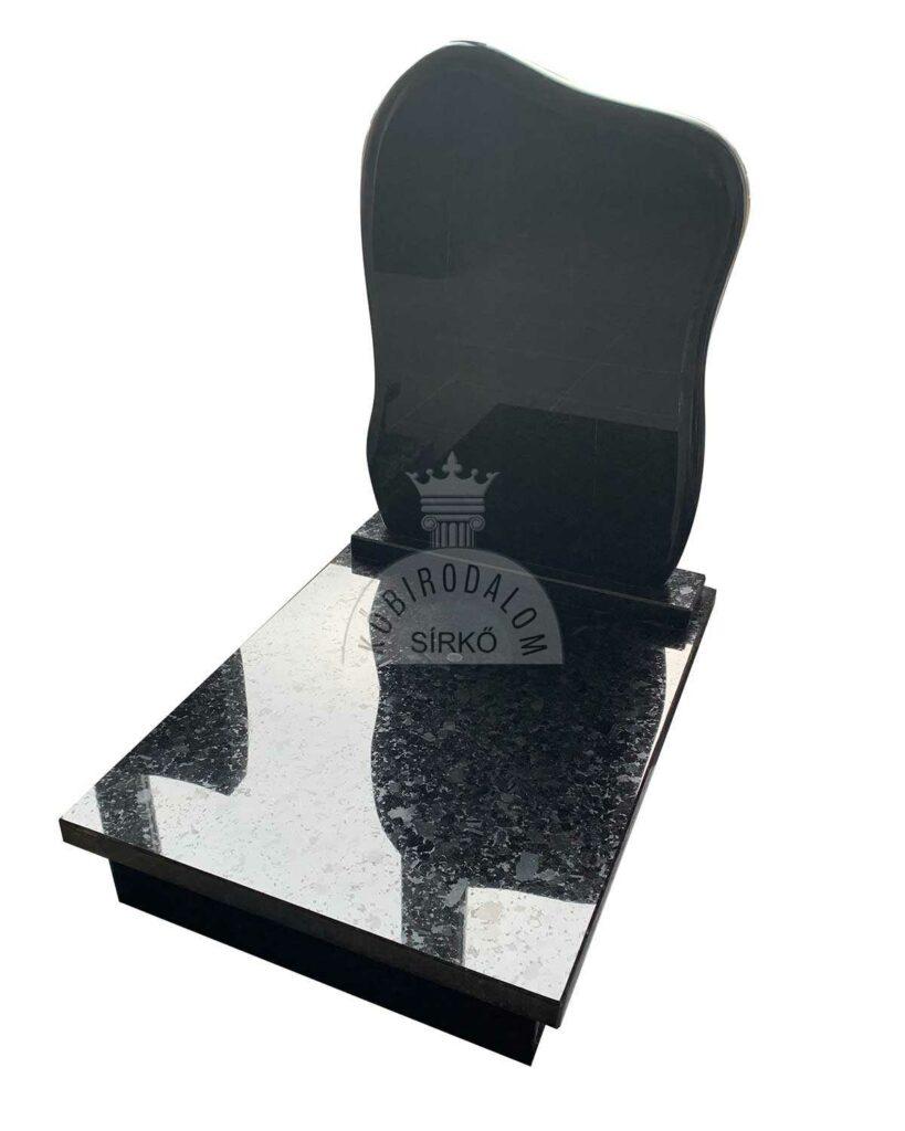 Labrador Black gránit urna sírkő