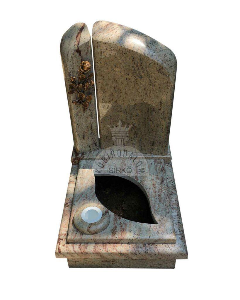 Shivakashi gránit urna sírkő